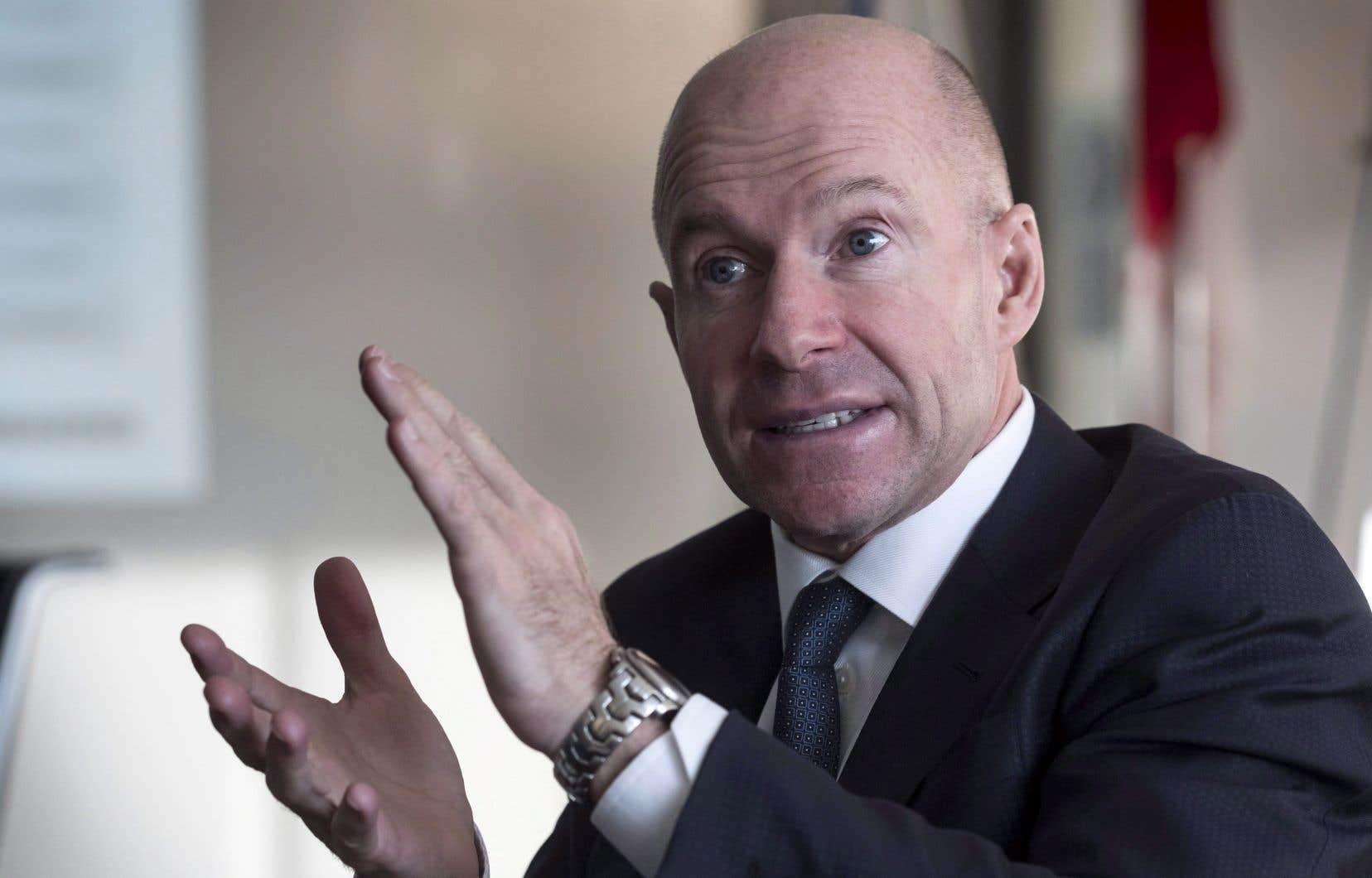 Le président et chef de la direction de Bombardier, Alain Bellemare,a fait valoir que l'avionneur comptaitquelque 4800 appareils d'affaires actuellement en service à travers le monde.