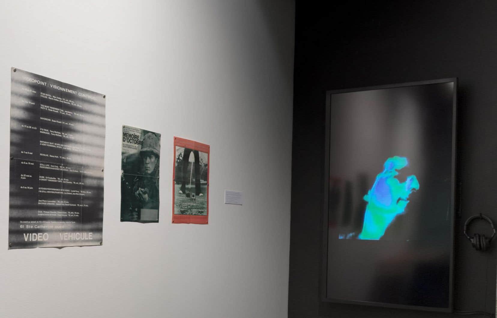 Vue de l'exposition «Réseaux magnétiques»