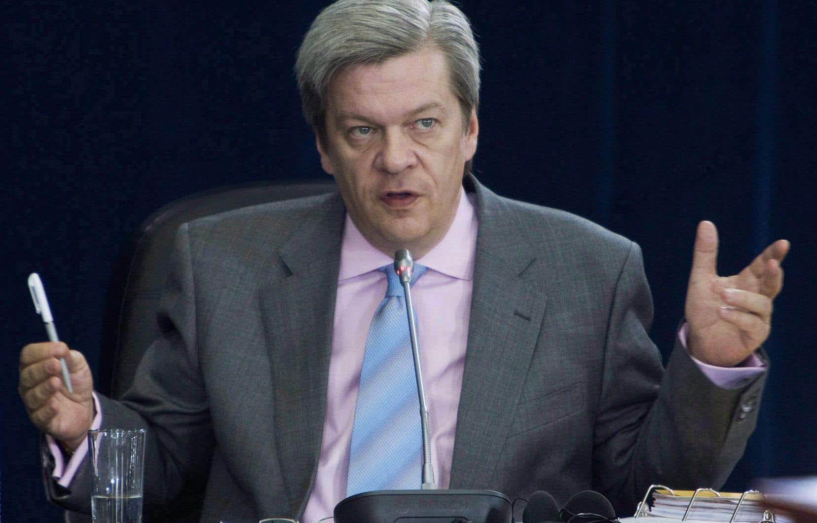 L'analyste politique Luc Lavoie