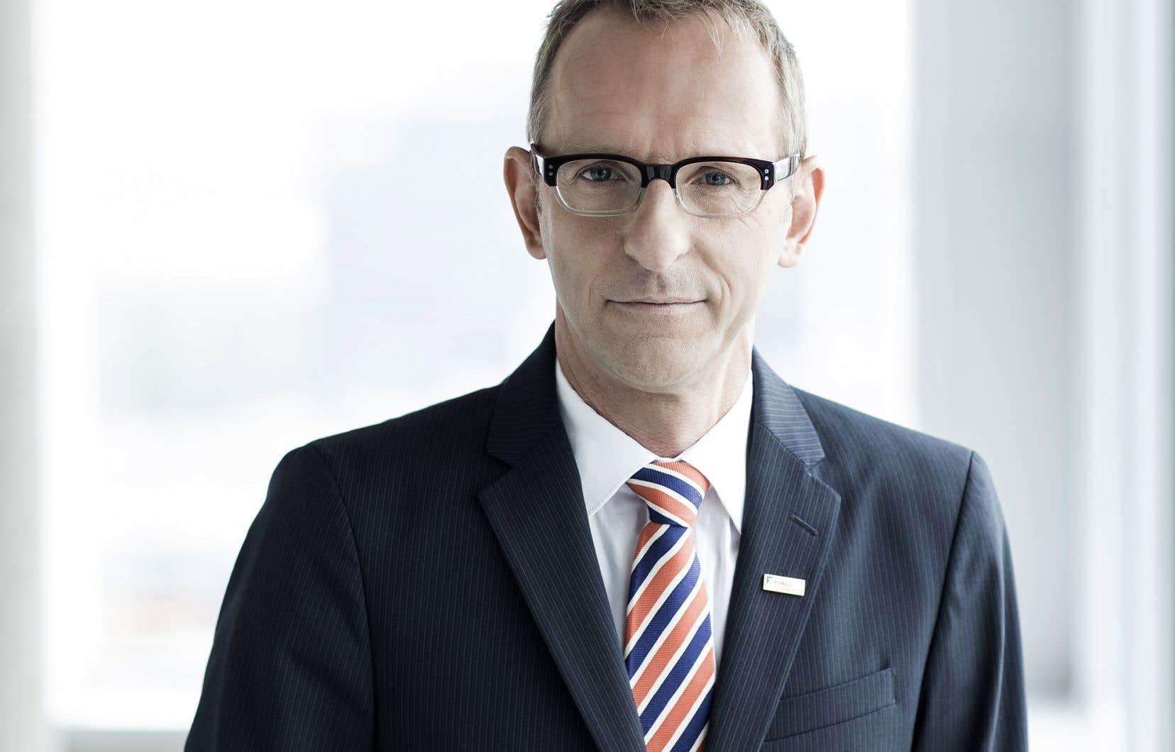 Le vice-président aux affaires publiques et corporatives au Fonds de solidarité FTQ,Mario Tremblay