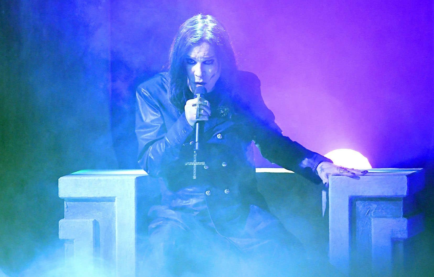 Ozzy Osbourne, pendant une prestation aux American Music Awards, en novembre dernier