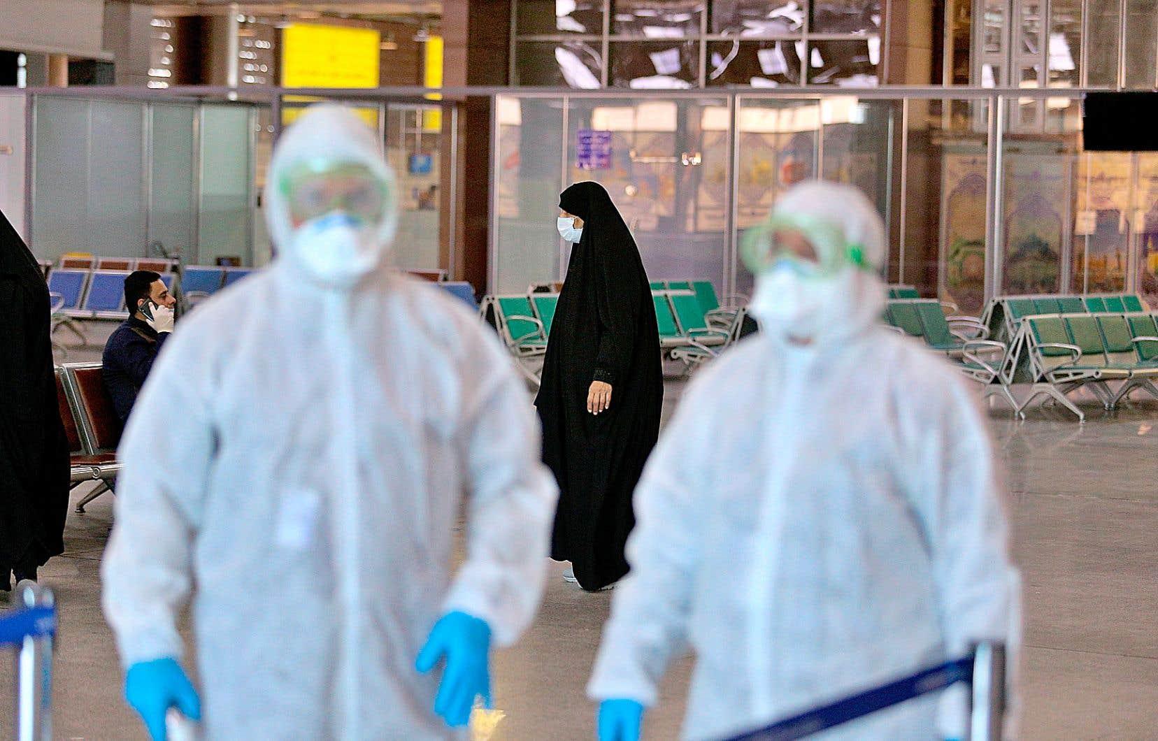 Le coronavirus a fait quatre morts en Iran depuis l'apparition des premiers cas d'infection.