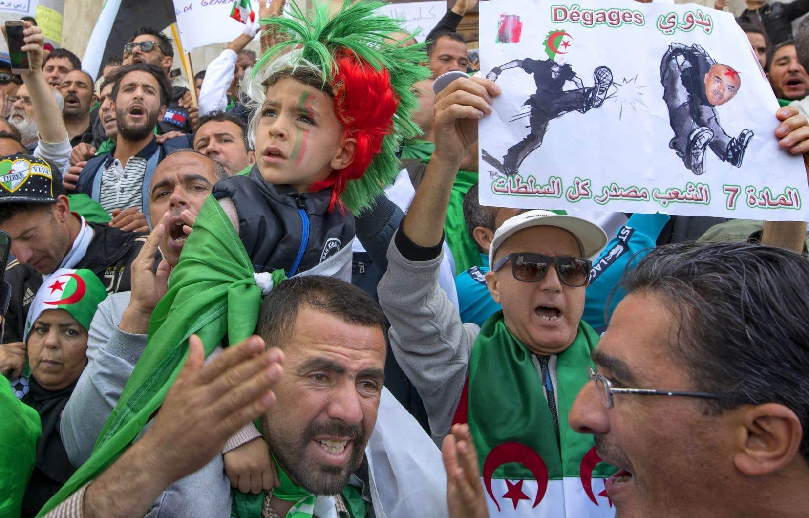 Manifestation à Alger, en avril 2019