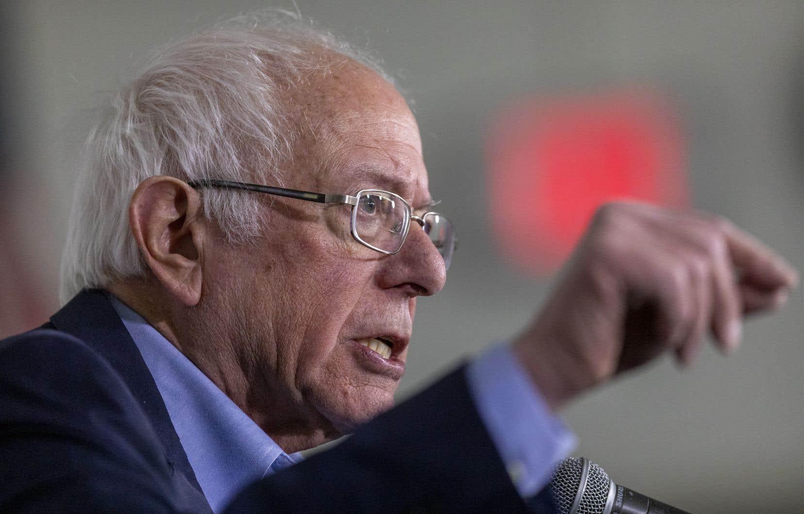 Le sénateur Bernie Sanders a assuré «ne pas considérer Vladimir Poutine comme un bon ami, contrairement à Donald Trump».