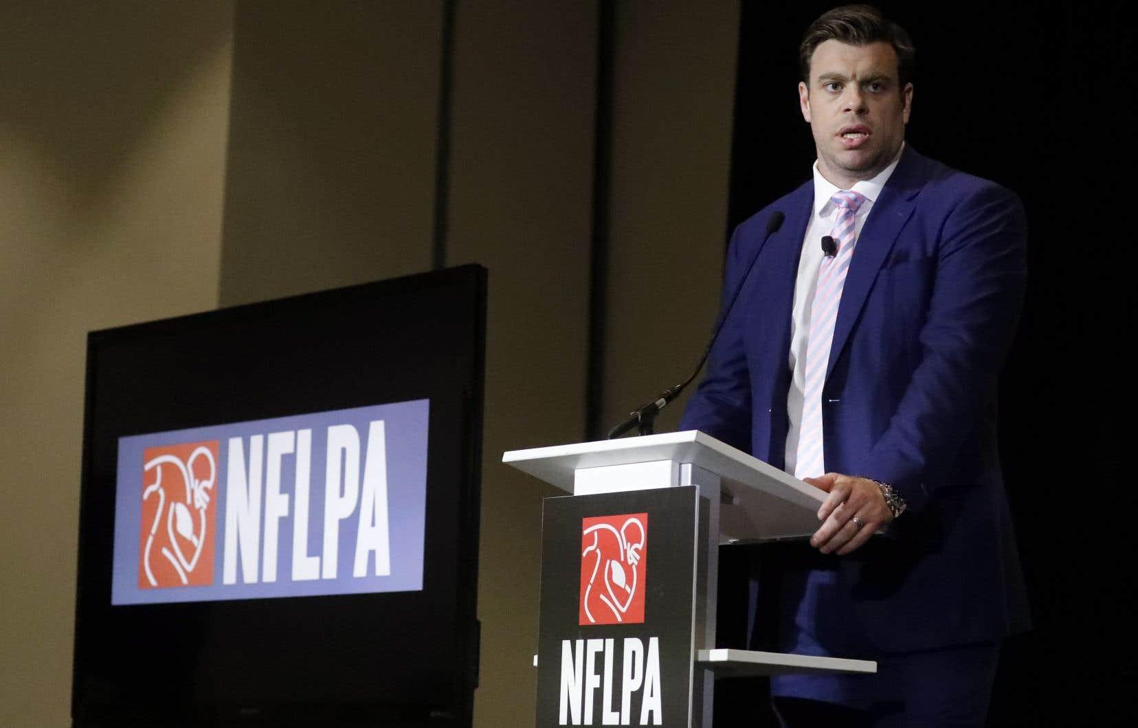 Eric Winston, président de l'Association des joueurs de la NFL