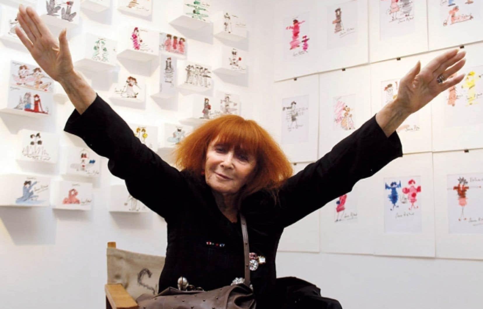 Sonia Rykiel, la reine de la maille qui, à 80 ans, n'en finit plus de lancer de nouvelles collections et de conquérir de nouveaux marchés.<br />