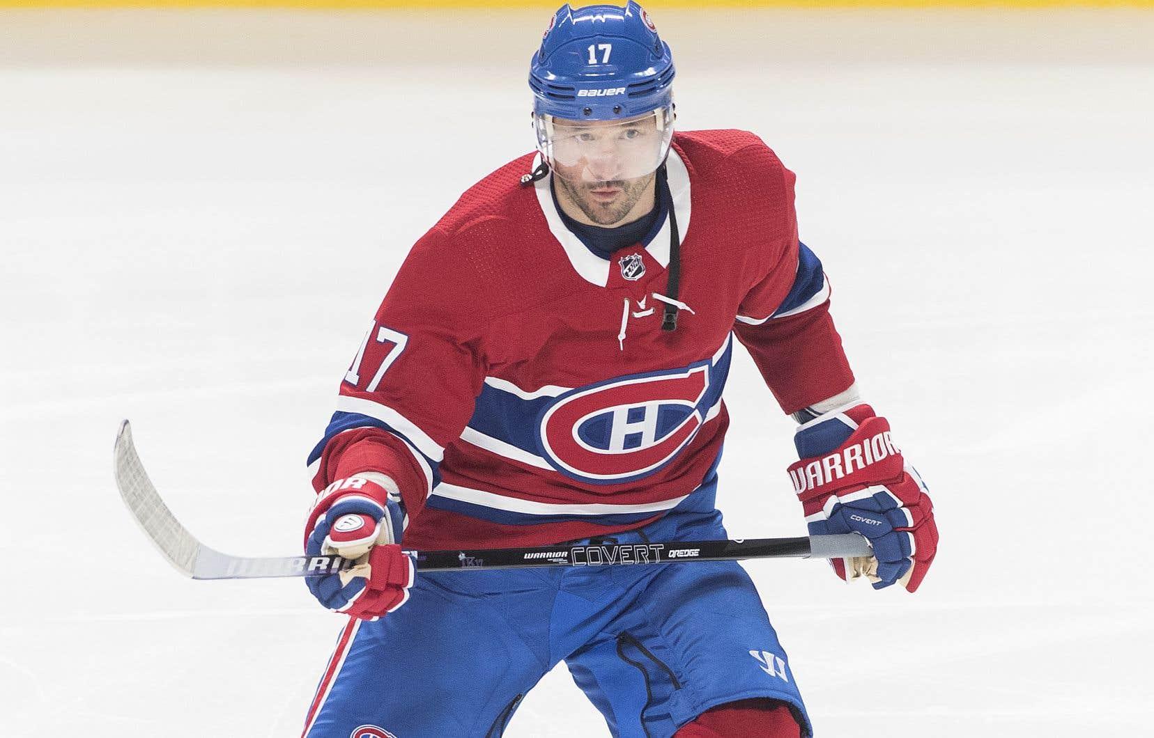 Ilya Kovalchuk avait signé un contrat d'un an avec le Canadien le 3 janvier dernier.