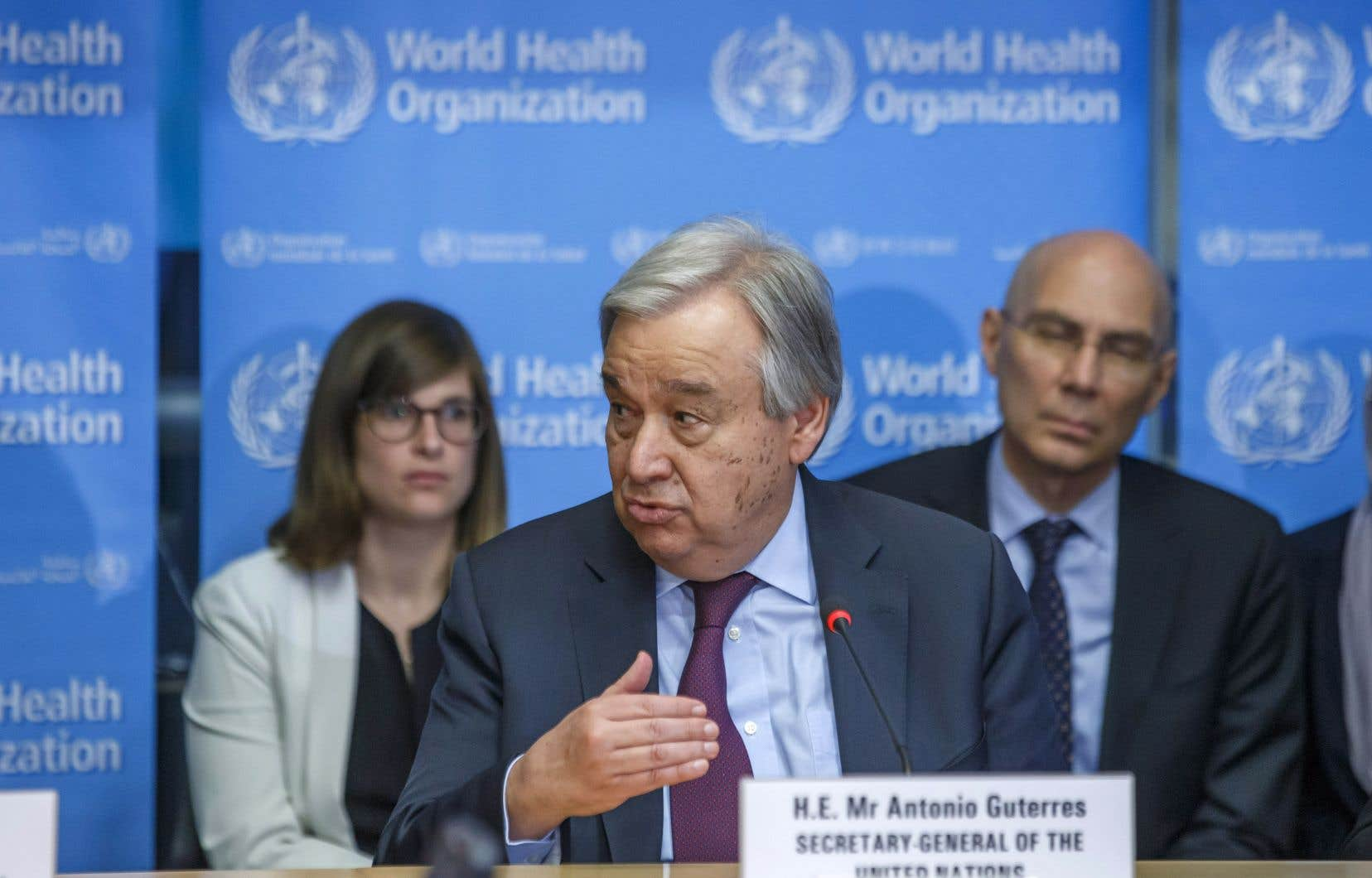 Le secrétaire général de l'ONU, Antonio Guterres