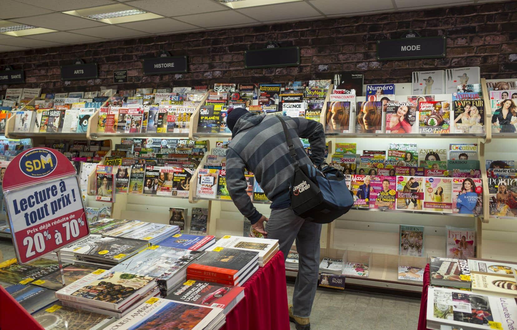 En 2017, les magazines québécois destinés au grand public rejoignaient quelque 11,8 millions de lecteurs.