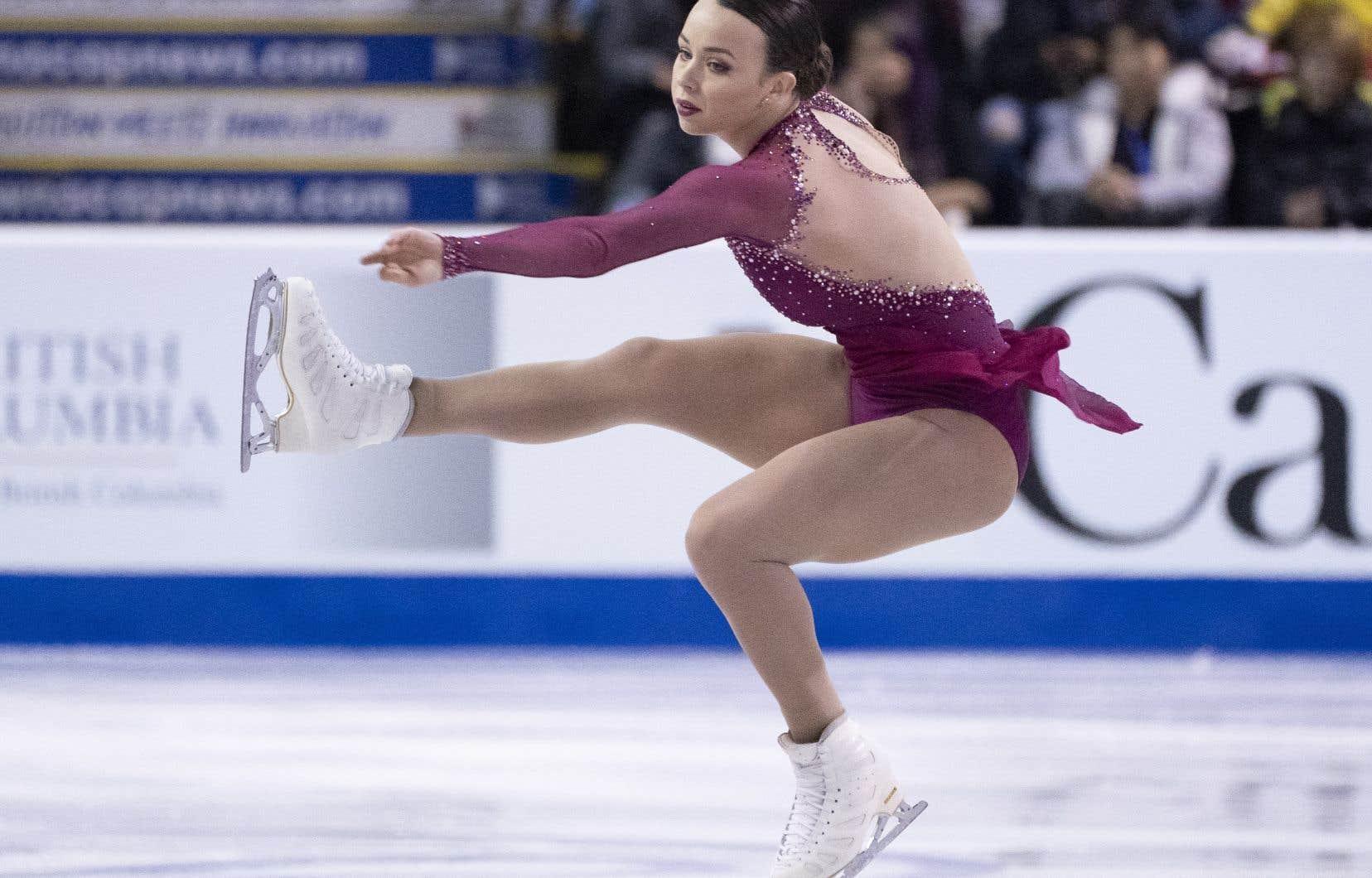 Alicia Pineault, jeune patineuse de 20 ans, participera à ses premiers Mondiaux.