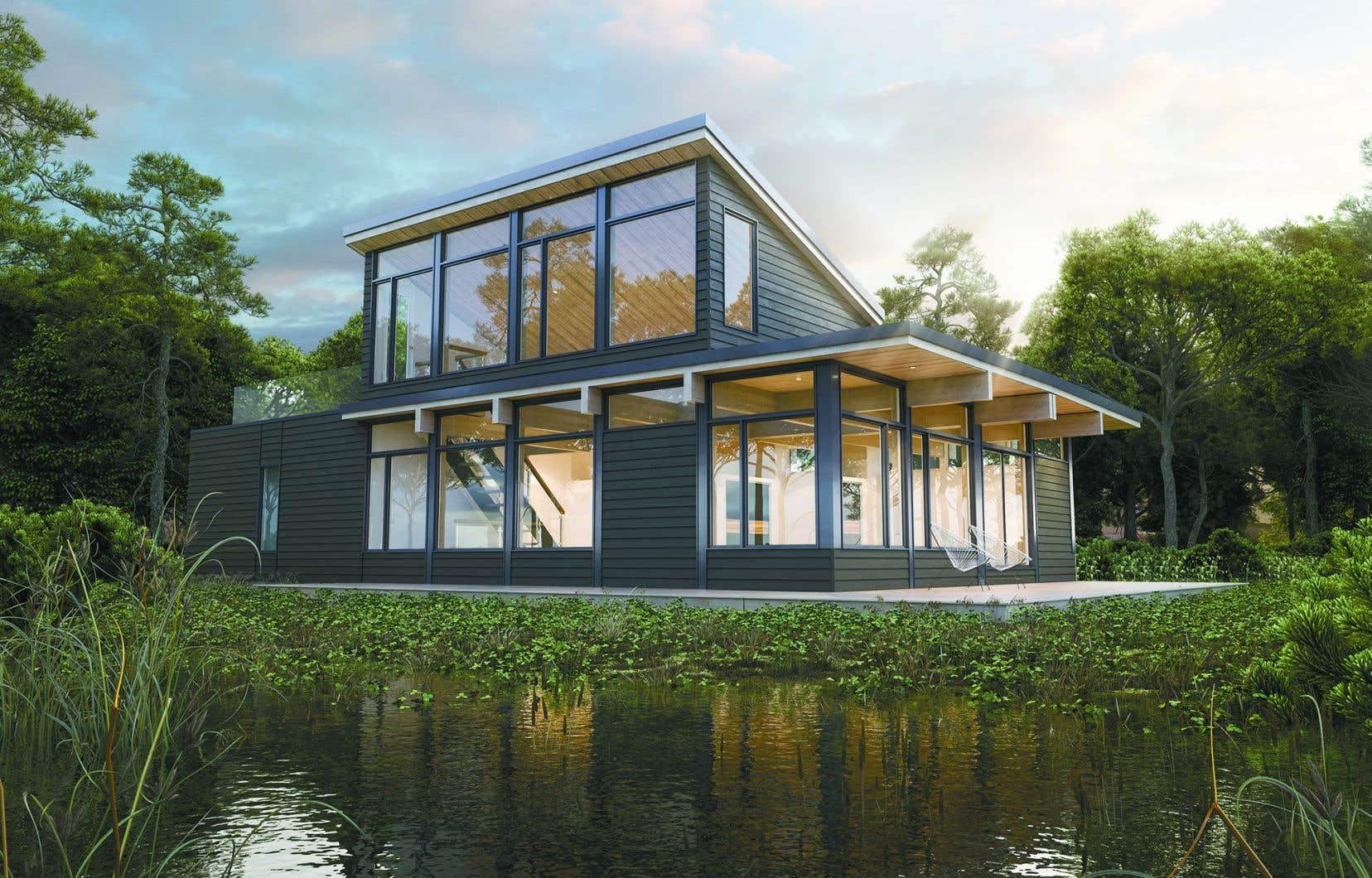 <p>Avec ses hauts plafonds de bois de près de 10' se prolongeant vers l'extérieur et sesimpressionnantes fenêtres, la série Natur est maintenant indissociable du nom Bonneville.</p>