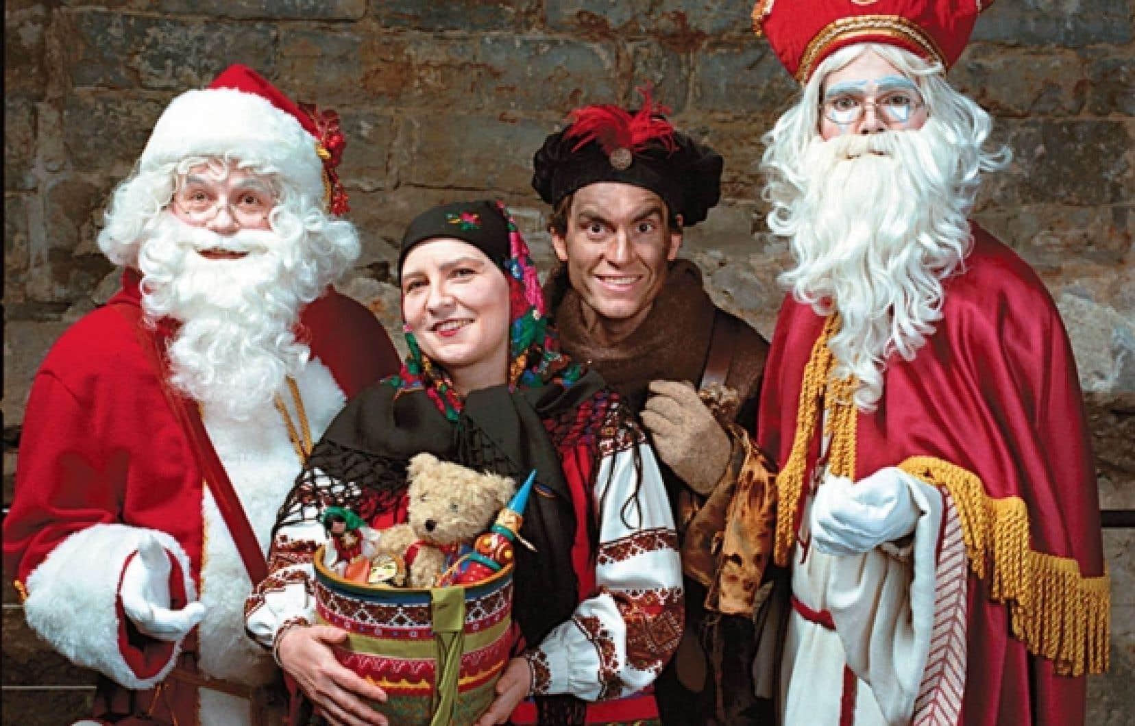 <em>Qui est le vrai Père Noël</em> <em>?</em>, au Musée d'archéologie et d'histoire Pointe-à-Callière.<br />