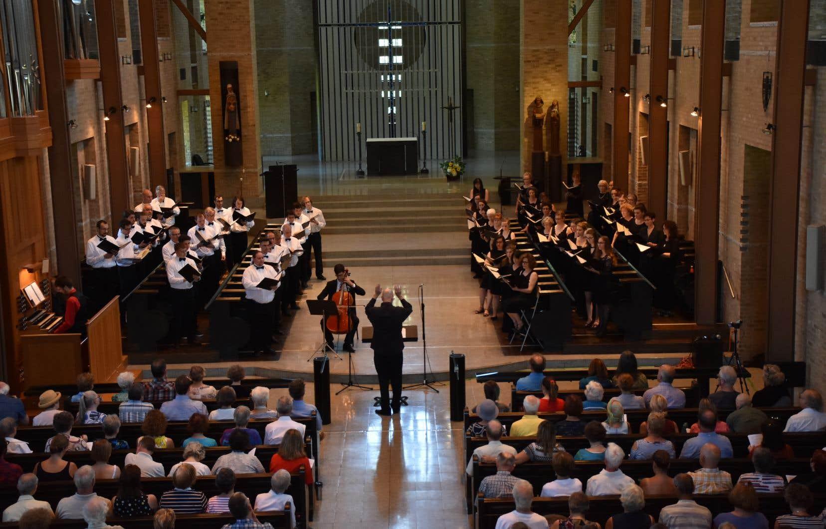 Cet été, le stage intensif de l'Université de Sherbrooke en chant choralcomptera une cinquantaine de participants.