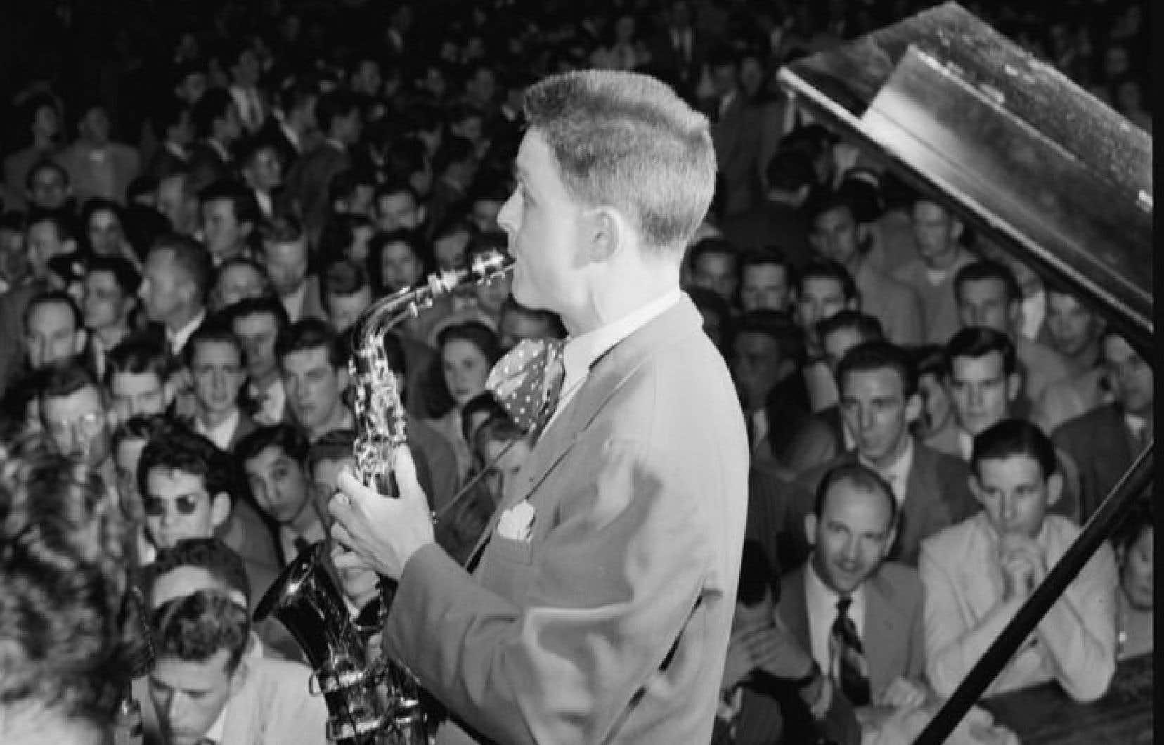 Art Pepper en spectacle à la fin des années 1940