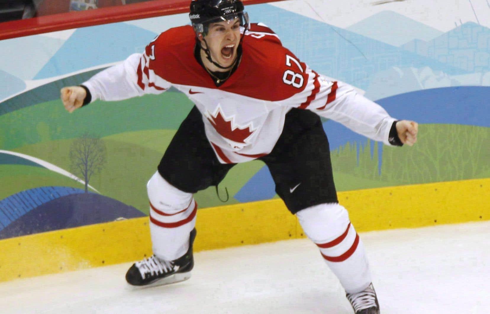 Le but de Crosby, le 28 février 2010 aux Jeux olympiques de Vancouver,représente sans aucun doute l'un des grands moments du sport canadien.