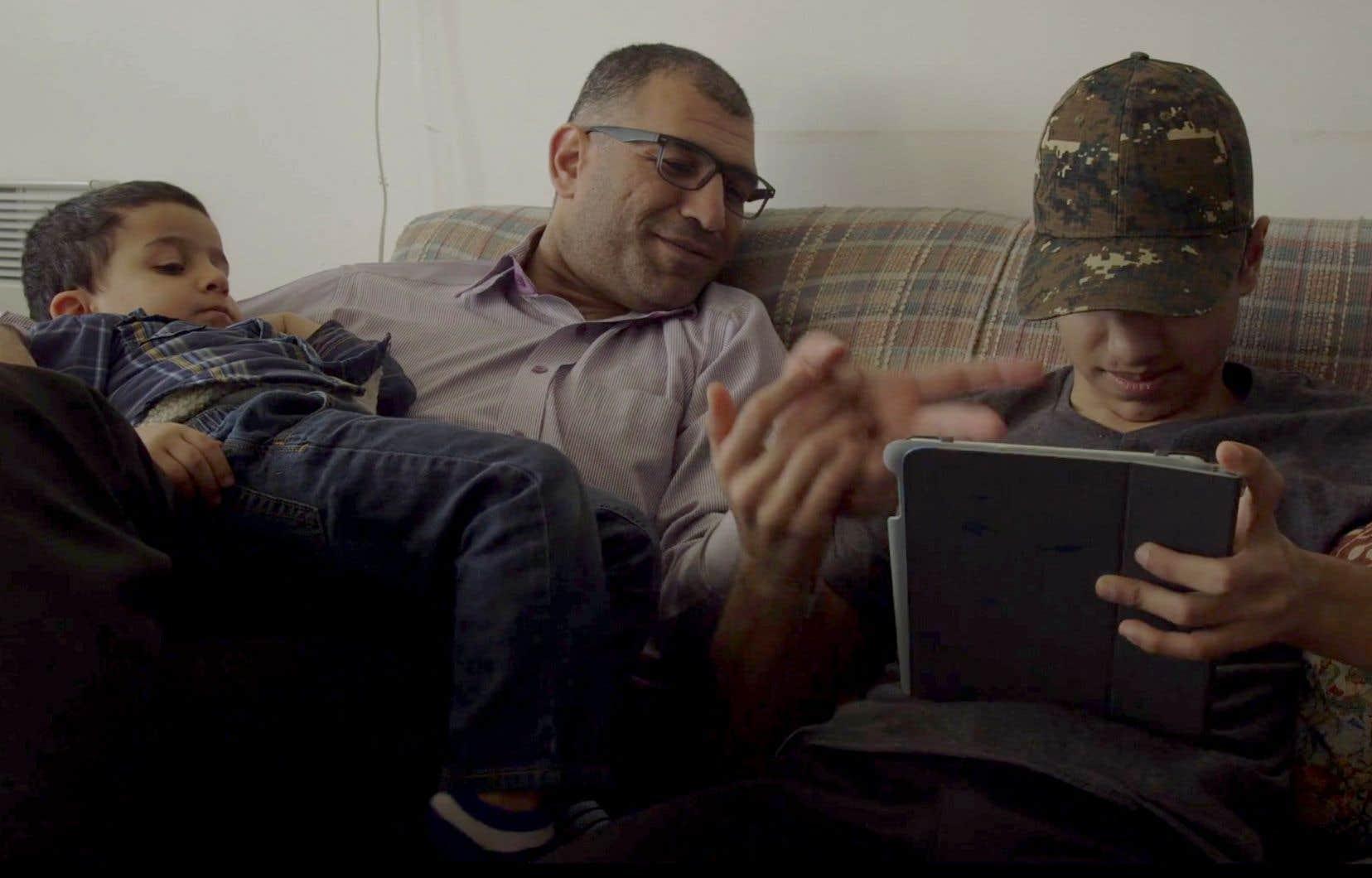 Image tirée du documentaire «Loin de Bachar»