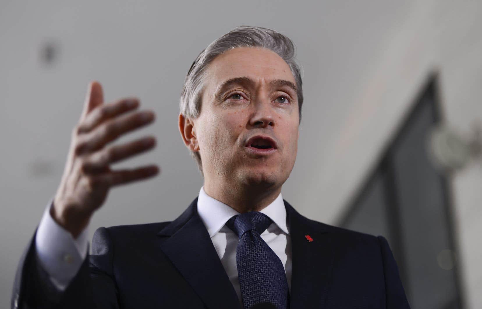Le ministre canadien des Affaires étrangères,François-Philippe Champagne, amorcera à Kiev le 3mars une visite de deux jours en Ukraine.