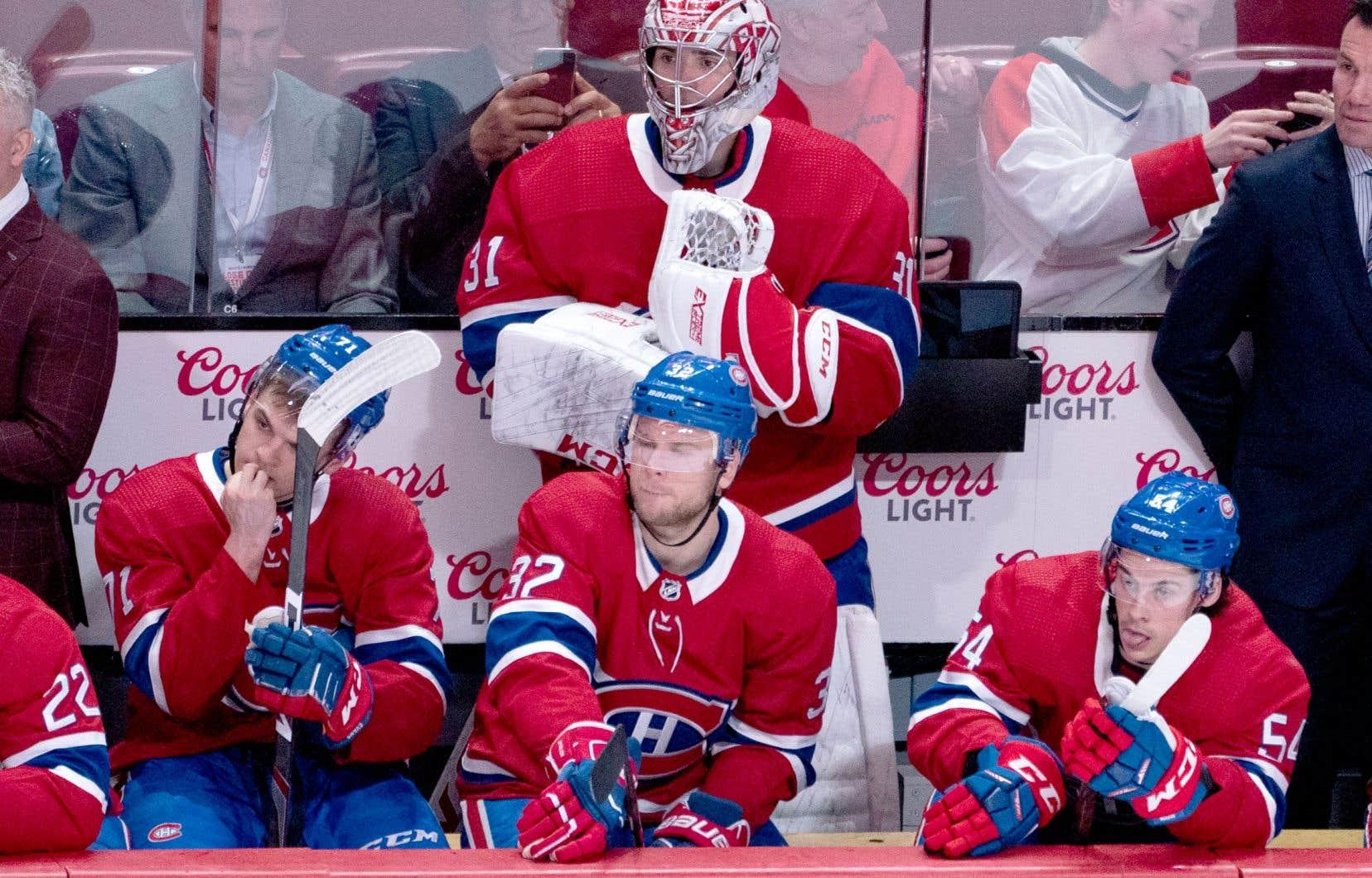 Christian Folin, Carey Price et leurs coéquipiers du Canadien de Montréal reçoivent les Hurricanes de la Caroline samedi soir.