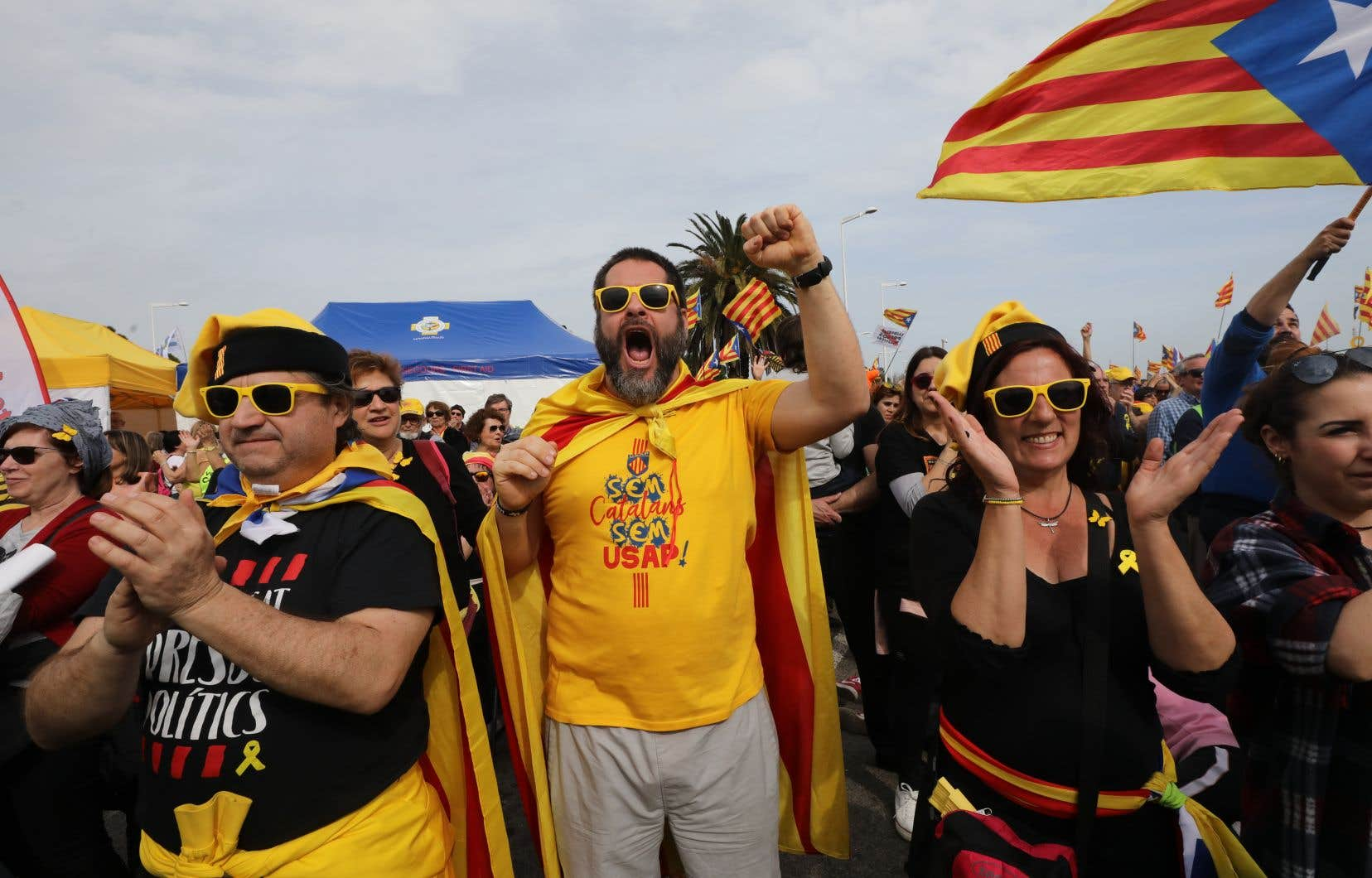 Selon la préfecture du département des Pyrénées-Orientales, 100000 personnes participaient à cette réunion tandis que les organisateurs ont donné le chiffre de 150000.