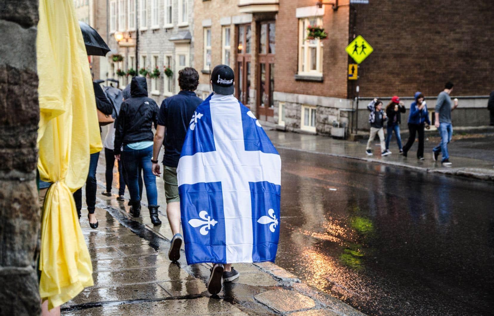 «Si on laisse les Québécois s'exprimer sur leur passé, ils étonnent par leur savoir, moins mince qu'on le croit», dit l'auteur.
