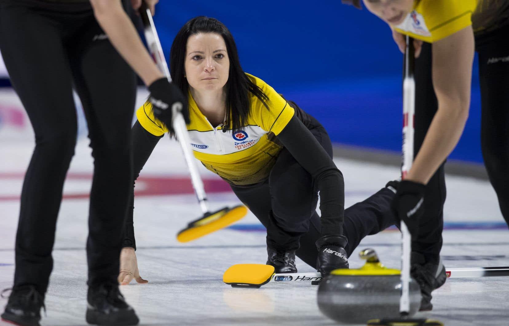 L'équipe canadienne de curling de la capitaine Kerri Einarson se frottera à celles d'une douzaine de pays, du 14 au 22 mars.