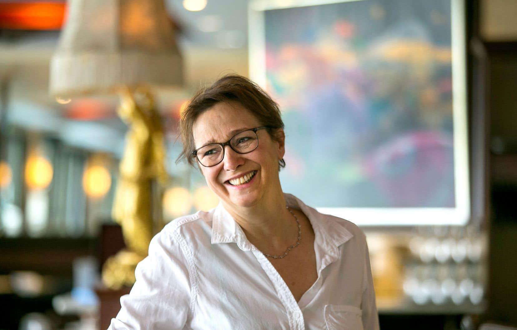 «Mon but est qu'à la fin du montage, ils (les réalisateurs) soient contents de leur film», dit Dominique Fortin, monteure.