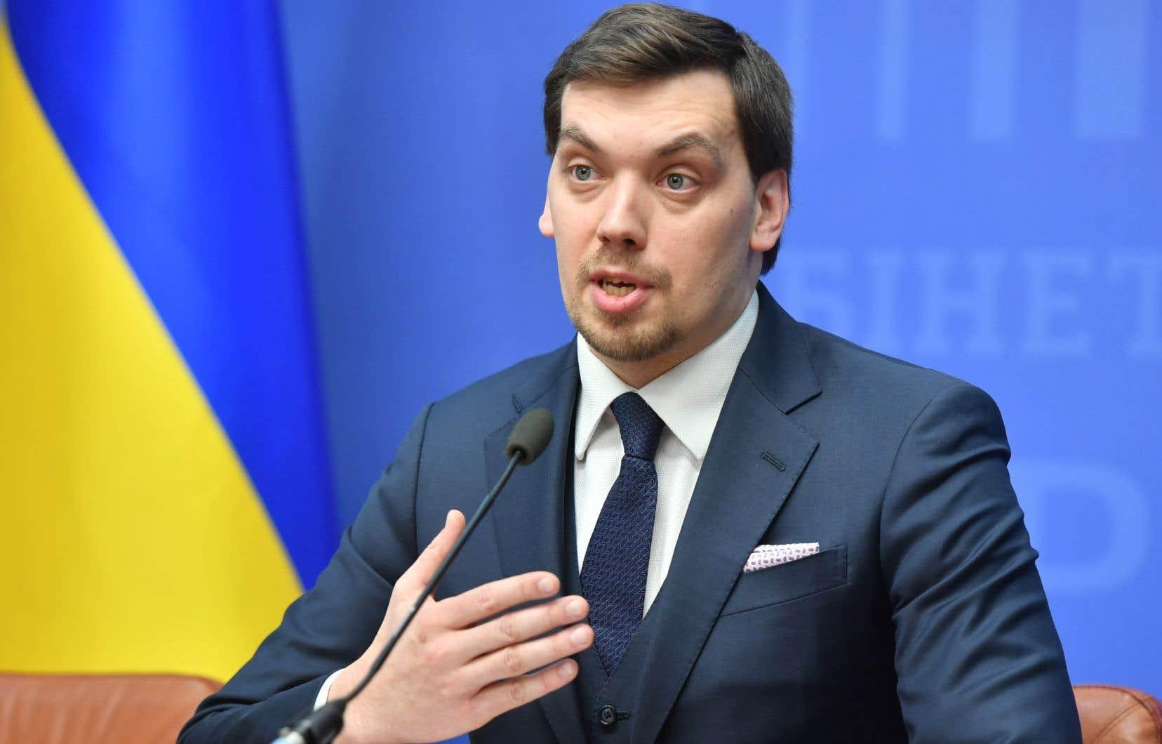 À 35 ans, Oleksiï Gontcharouk est le plus jeune premier ministre dans l'histoire de l'Ukraine.
