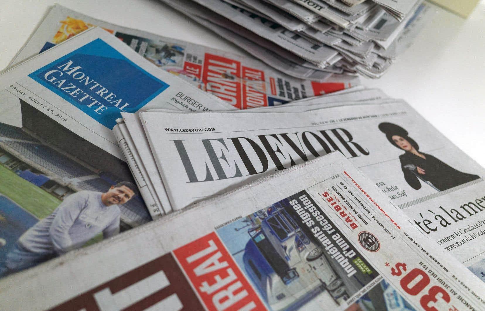 L'écrasante majorité des Québécois, soit 83%, font confiance aux médias d'information (16% leur font «très confiance» et 67% font confiance aux journalistes.