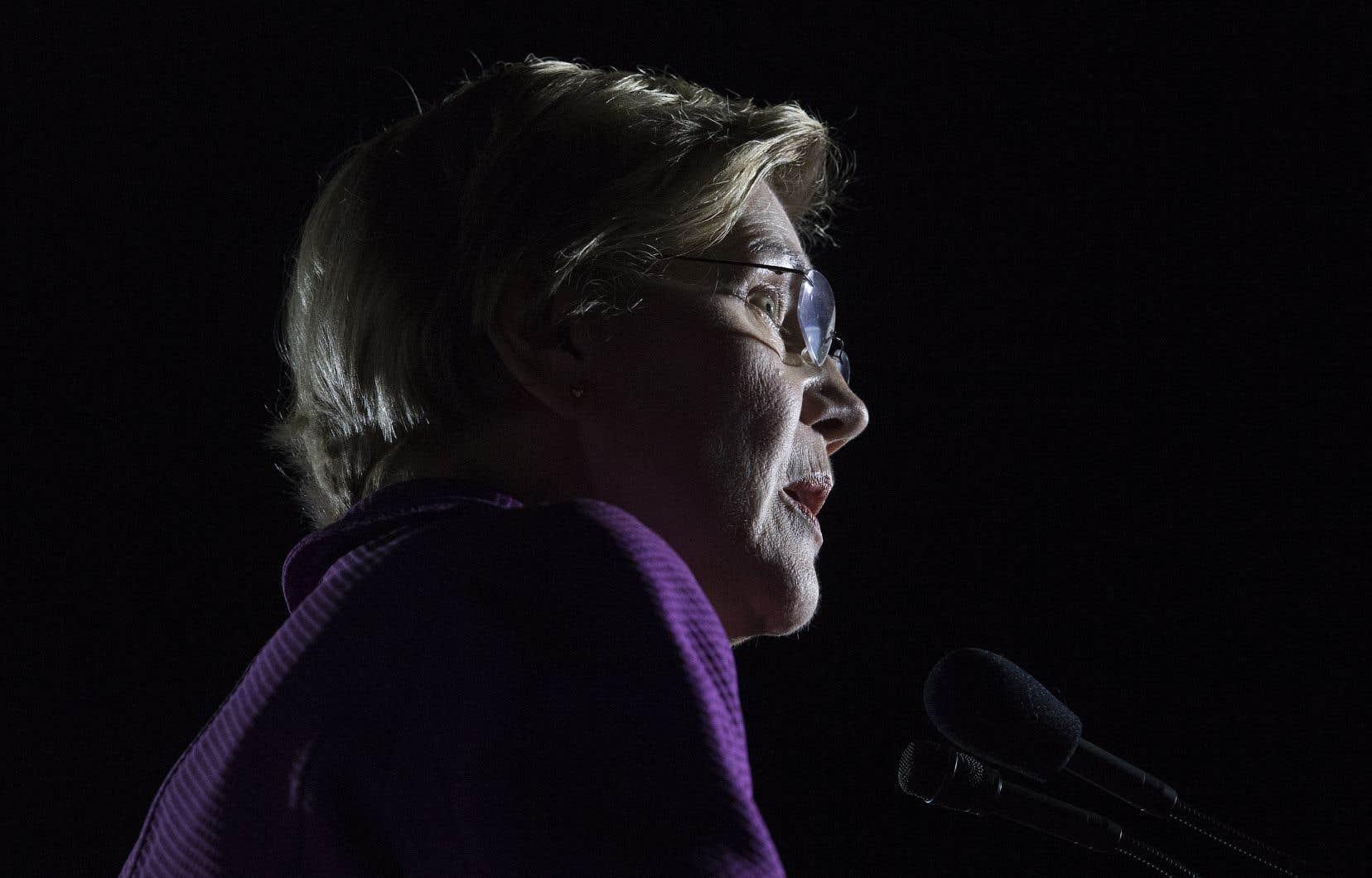 La sénatrice démocrate Elizabeth Warren