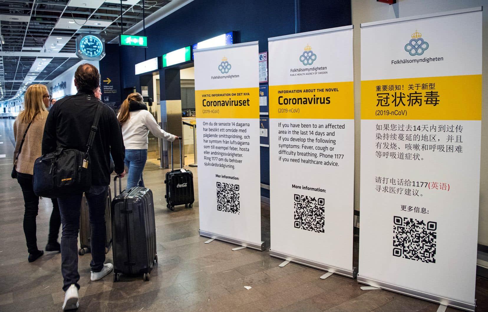 Surprise par la rapidité de la propagation du COVID-19, l'Association internationale du transport aérien a revu en hausse son estimation des pertes de revenus dans le transport passagers.