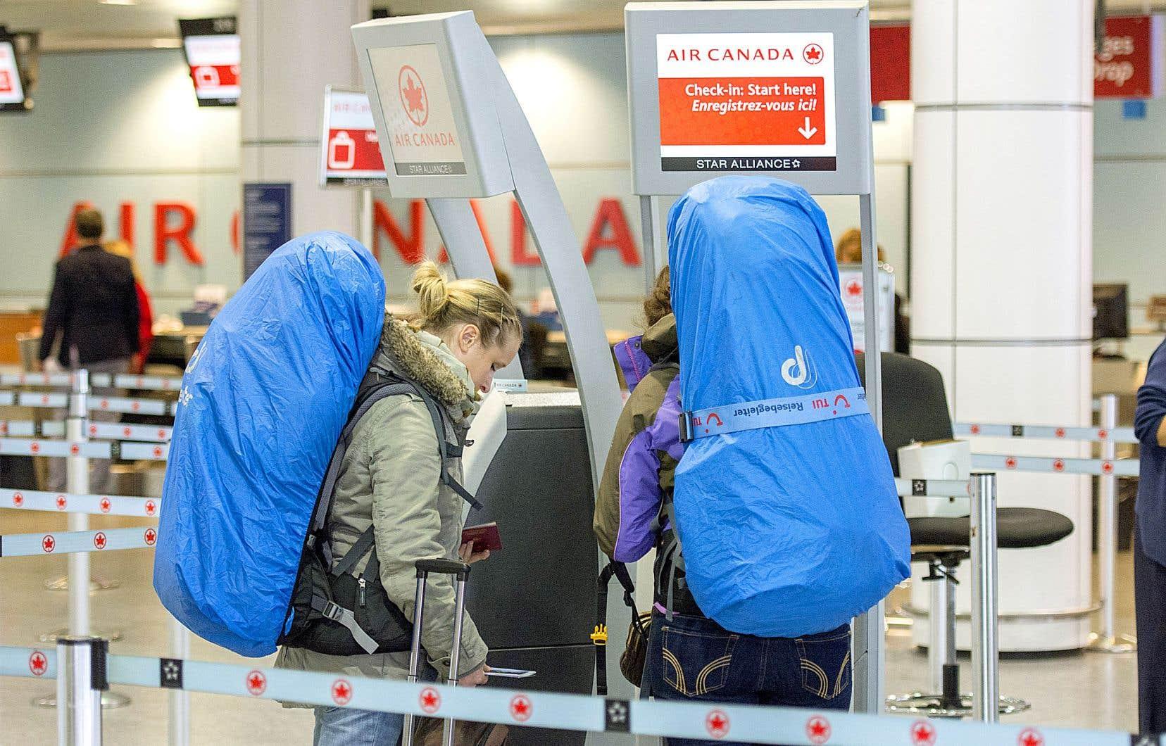 Air Canada permet aux voyageurs d'effectuer un changement sans frais pour les billets achetés entre le 4 mars et le 31 mars.