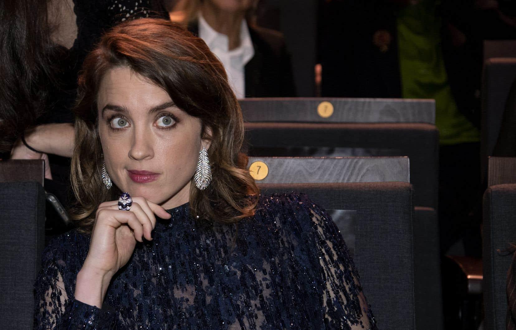 Avant la cérémonie des César, Adèle Haenel a affirmé que «distinguer Polanski [serait] cracher au visage de toutes les victimes».
