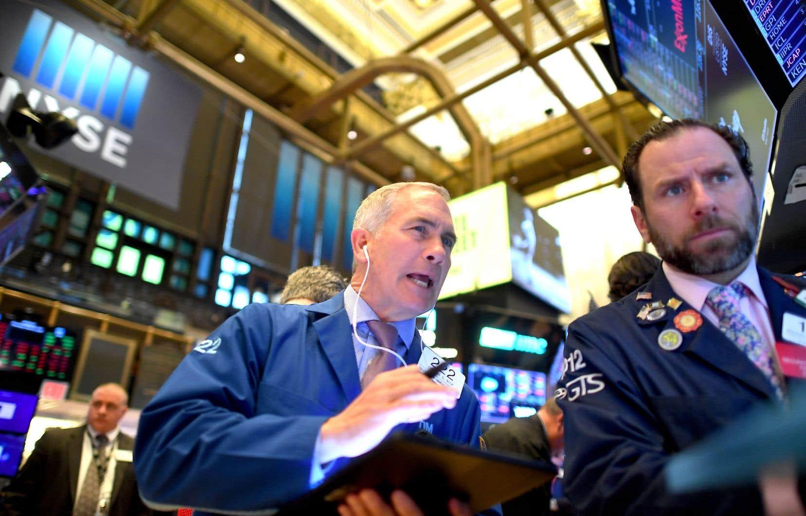 Wall Street a enchaîné cette semaine avec une évolution en dents de scie.
