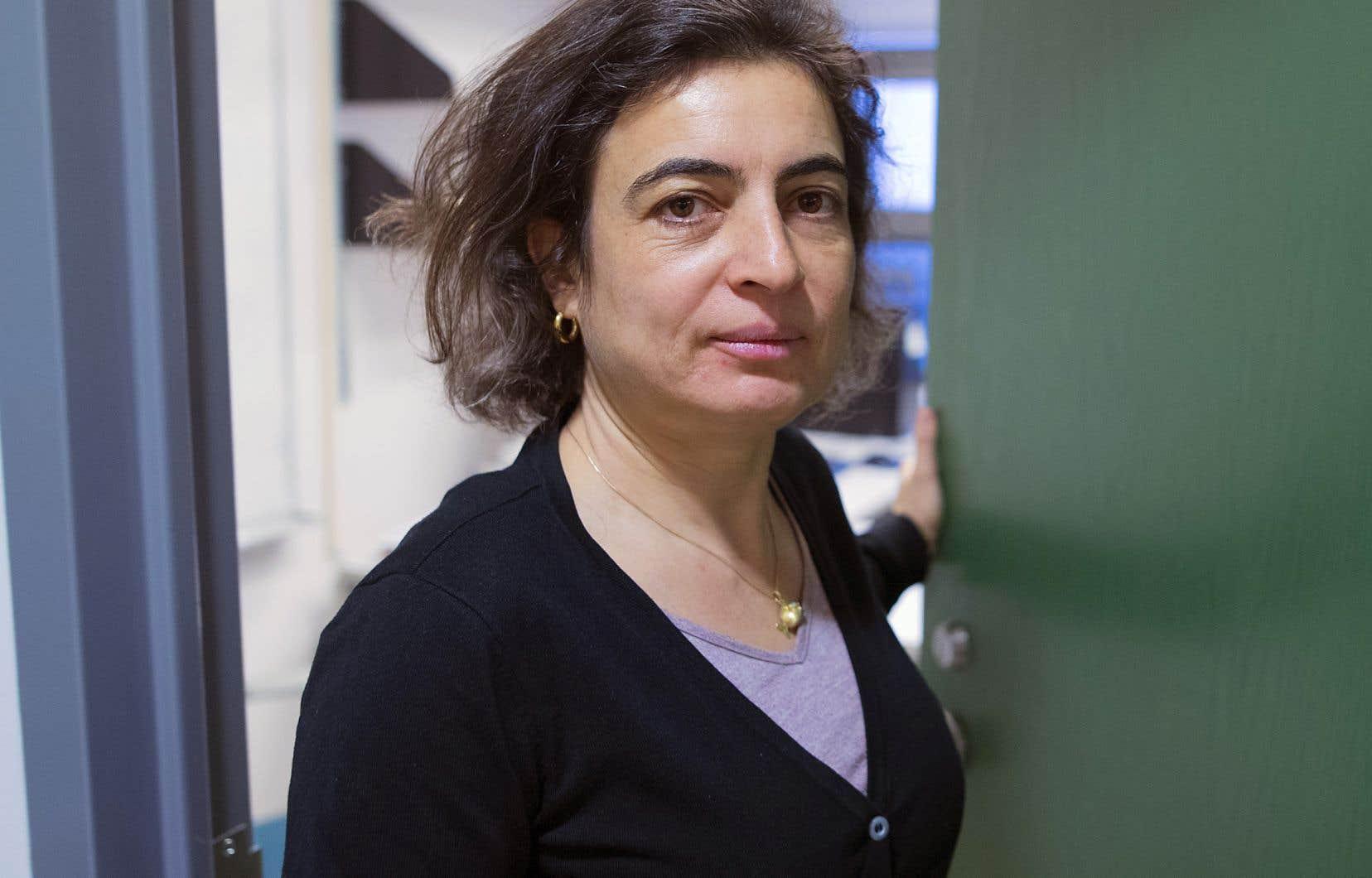 Nadia El-Mabrouk, une professeure du département d'informatique de l'Université de Montréal, était une des plus vives opposantes au cours.