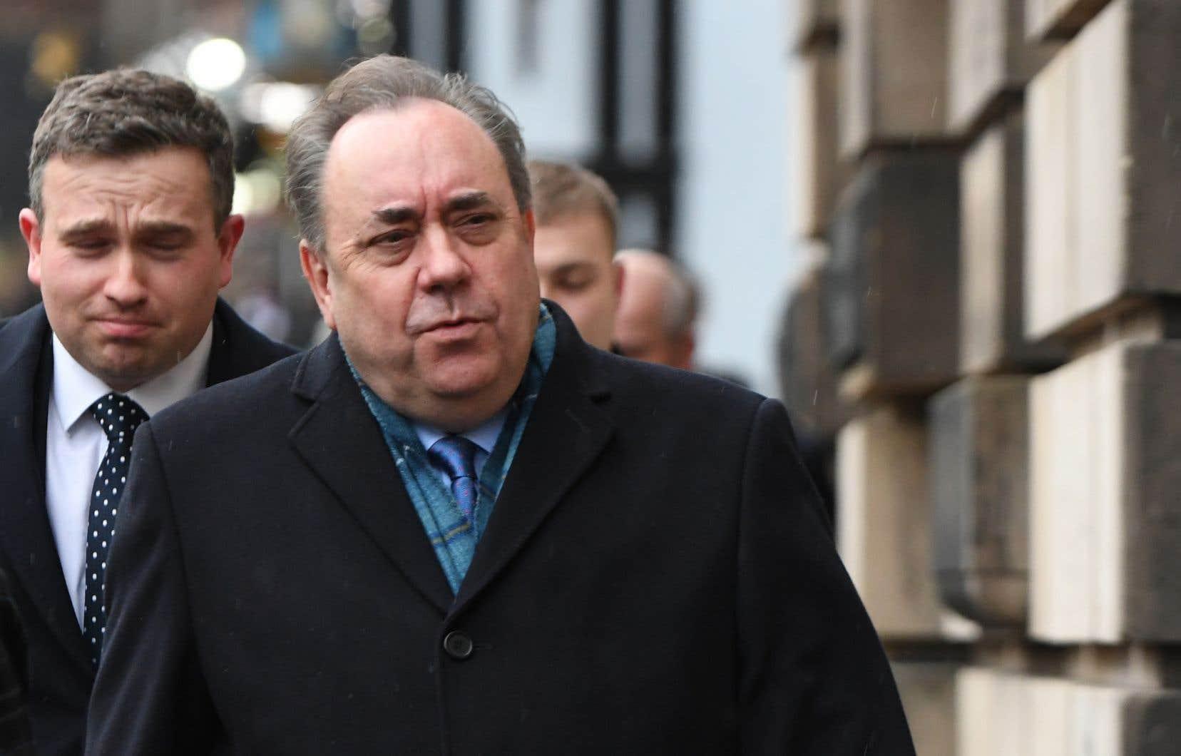 L'ex-premier ministre indépendantiste écossais Alex Salmond