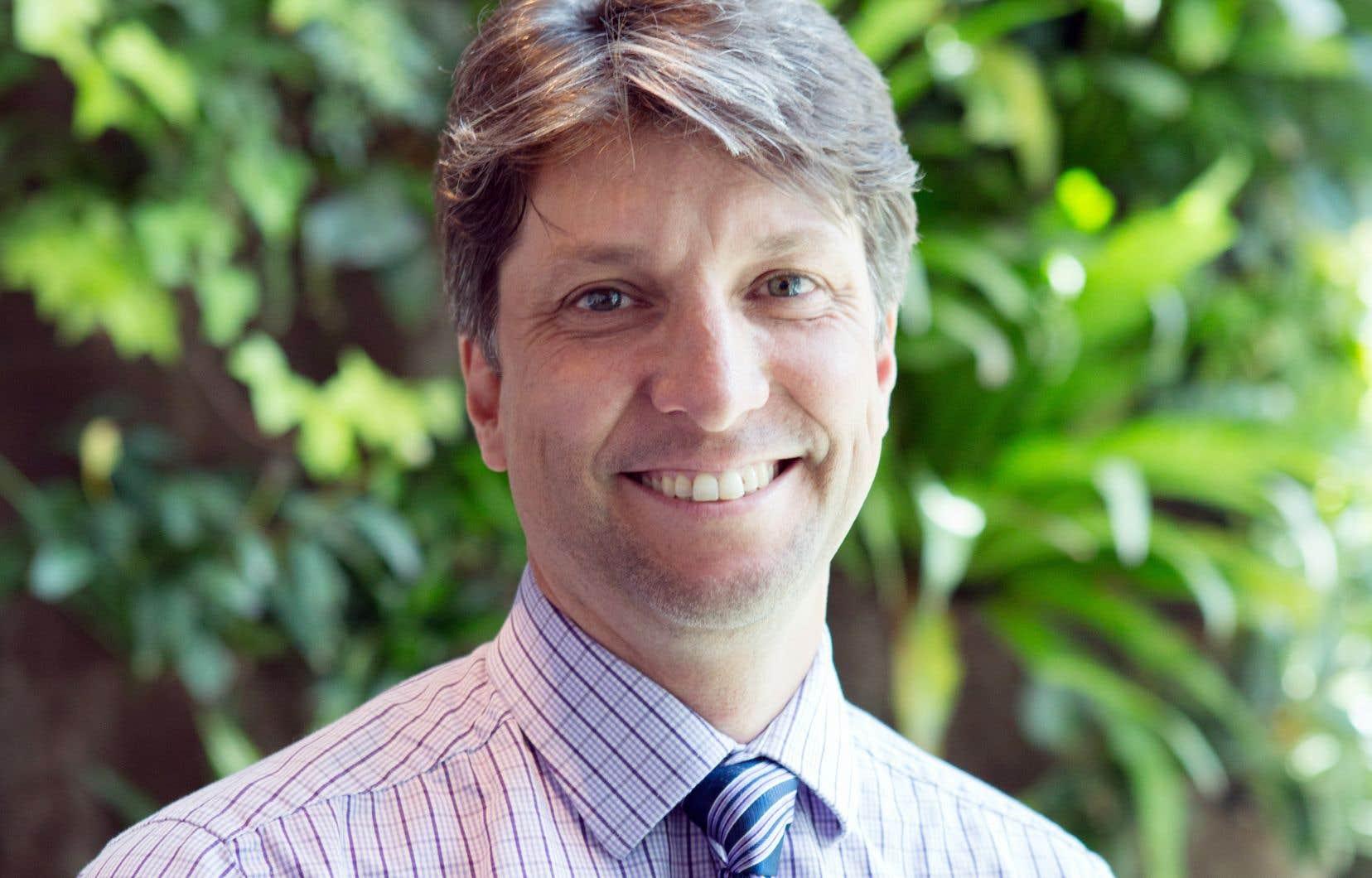 Le président du Bureau d'audiences publiques sur l'environnement (BAPE),Philippe Bourke