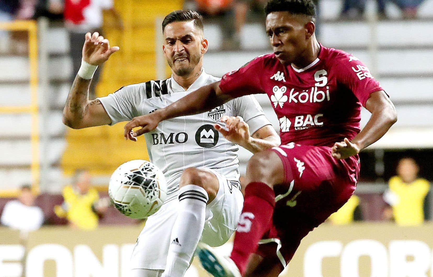 Le club montréalais s'était déjà qualifié au forceps face aux Costariciens du Deportivo Saprissa.