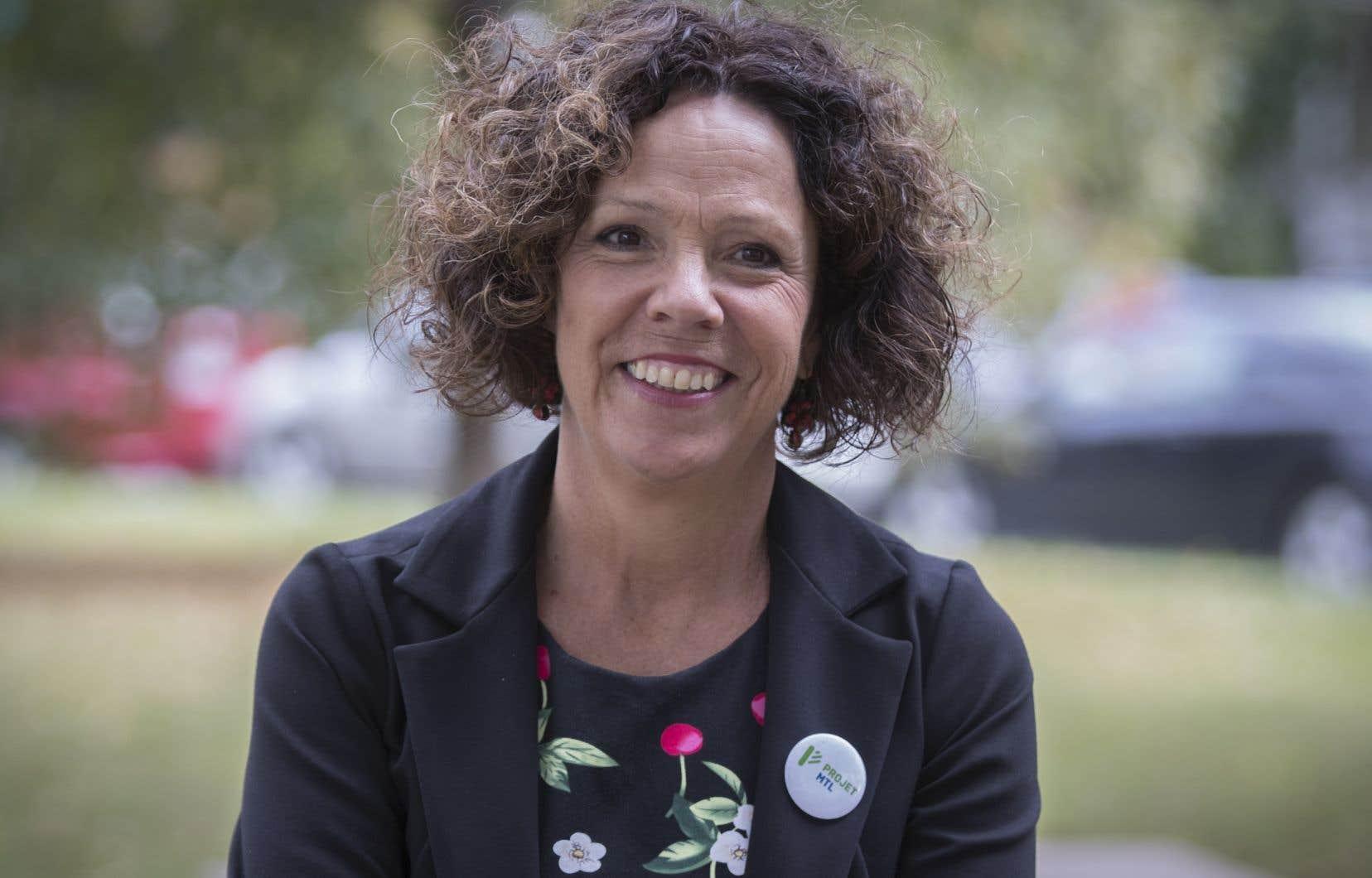 Sue Montgomery, mairesse de l'arrondissement Côte-des-Neiges—Notre-Dame-de-Grace