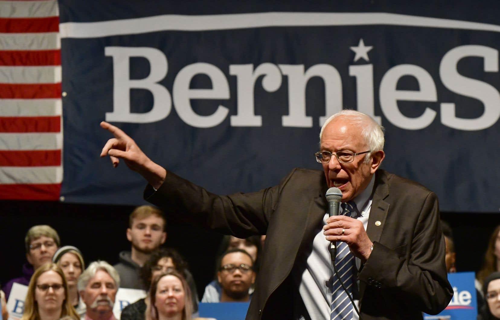Maigre consolation pour Bernie Sanders après une soirée électorale largement dominée la veille par Joe Biden, son rival pour l'investiture démocrate à la présidentielle de novembre.