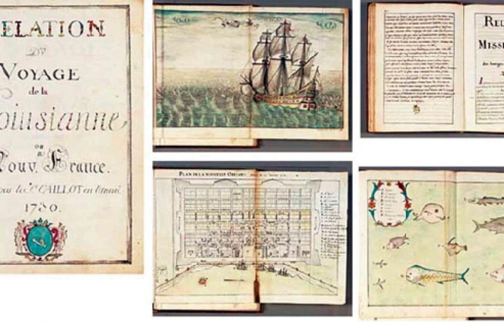 Relation du voyage de la Louisiane ou Nouvelle-France, un manuscrit de 168 pages, décrit dans le catalogue de Christie's comme un «ouvrage remarquable de première main, jamais publié», orné de nombreuses gravues, a bel et bien appartenu aux Archives nationales.<br />