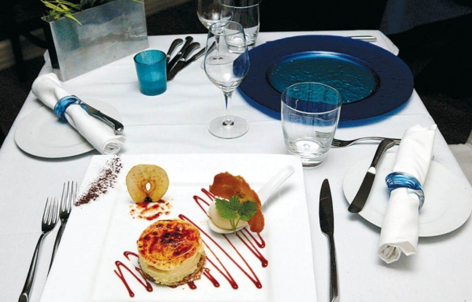 Un dessert à l'Europea.<br />
