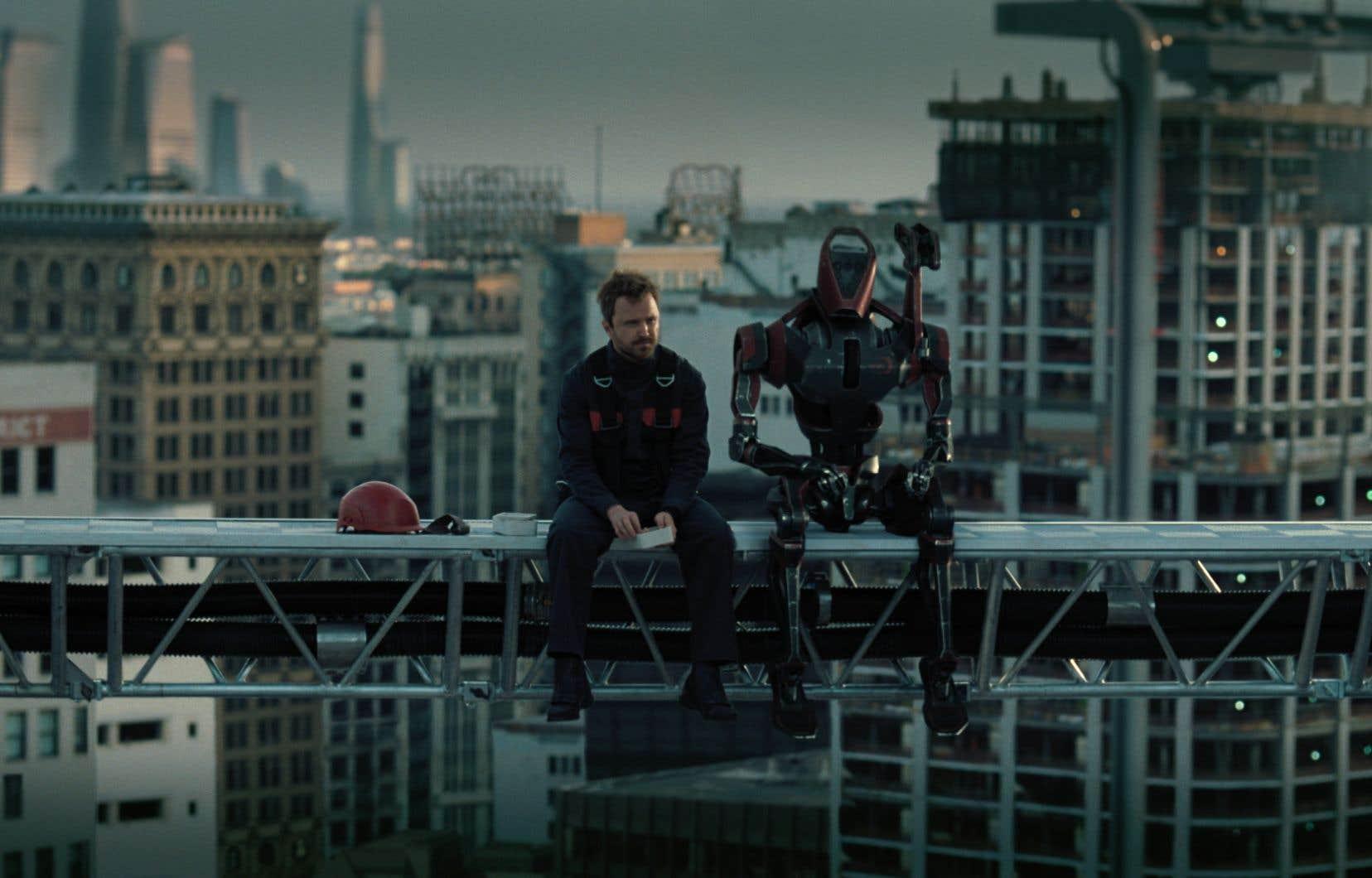 Visuellement, «Westworld 3» se déroule dans des mondes souvent urbains et nocturnes sur fond de magouilles économiques.