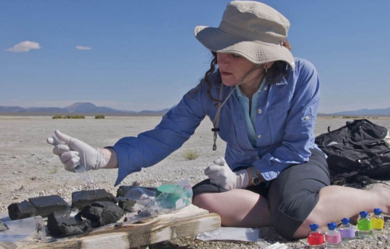 Felisa Wolfe-Simon, chercheuse en astrobiologie &agrave; l&rsquo;Institut de g&eacute;ophysique de la NASA<br />