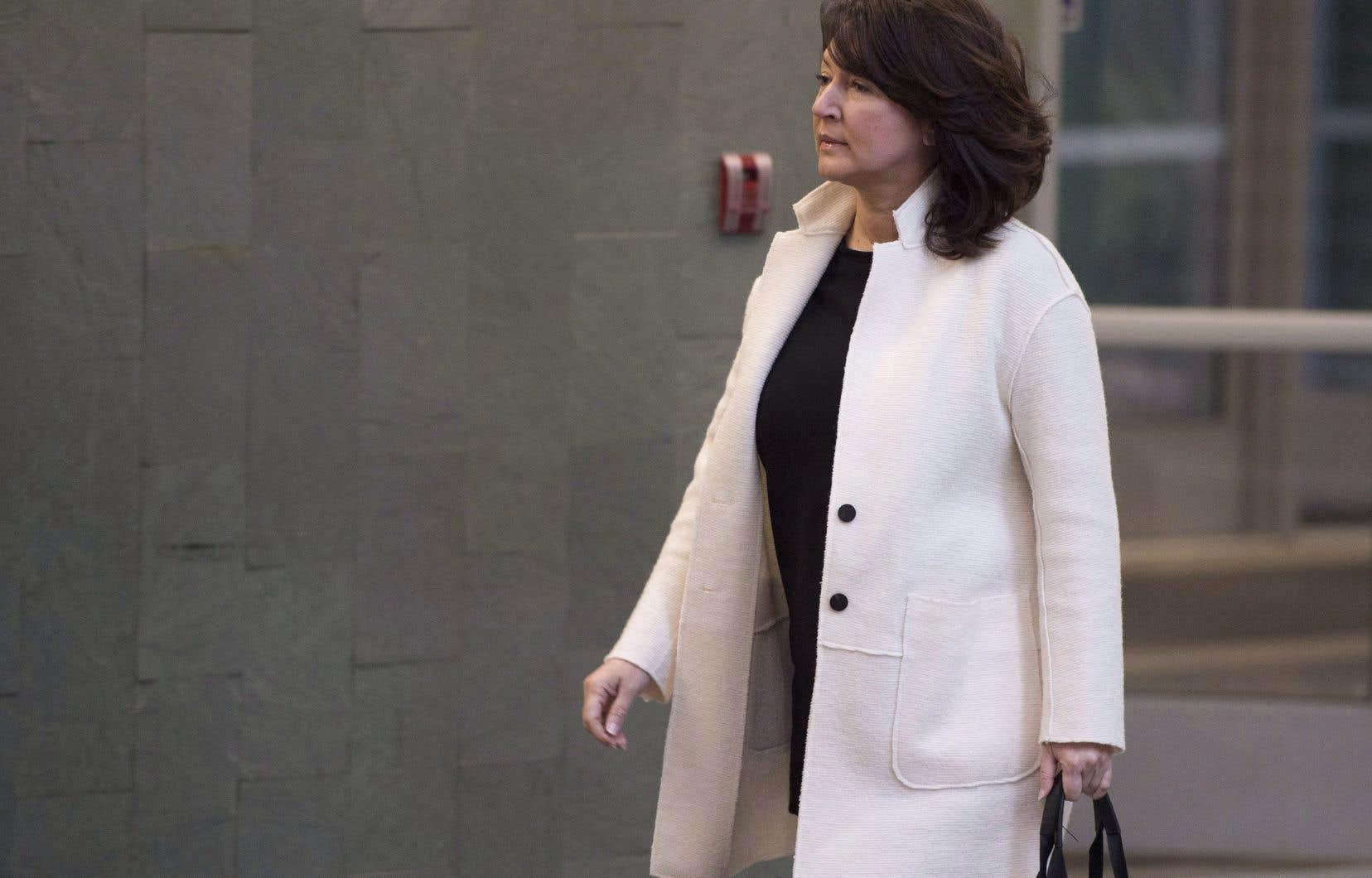 L'ex-ministre libérale Nathalie Normandeau