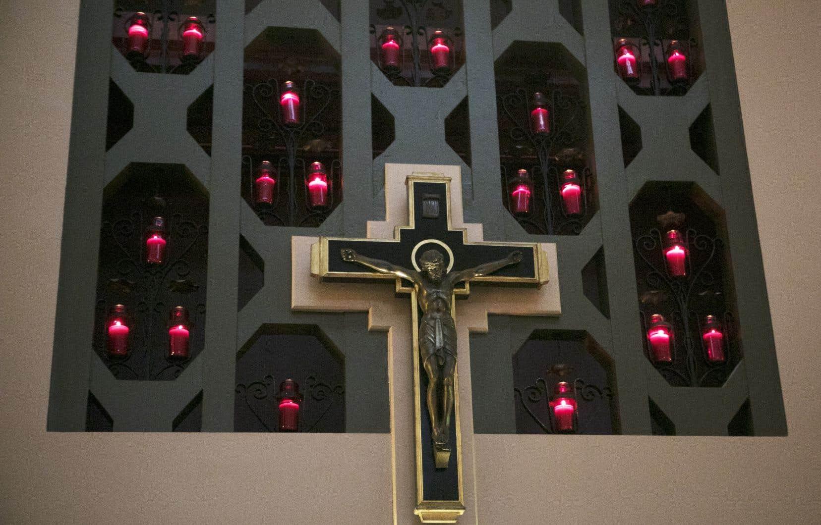 Les chrétiens étaient invités à se joindre virtuellement à cette messe toute particulière en direct, à 8h30 dimanche.