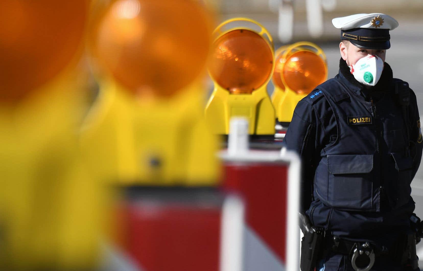 L'Allemagne a mis en oeuvre lundi à 7h (heure locale) ses contrôles aux frontières avec cinq pays annoncés dimanche.