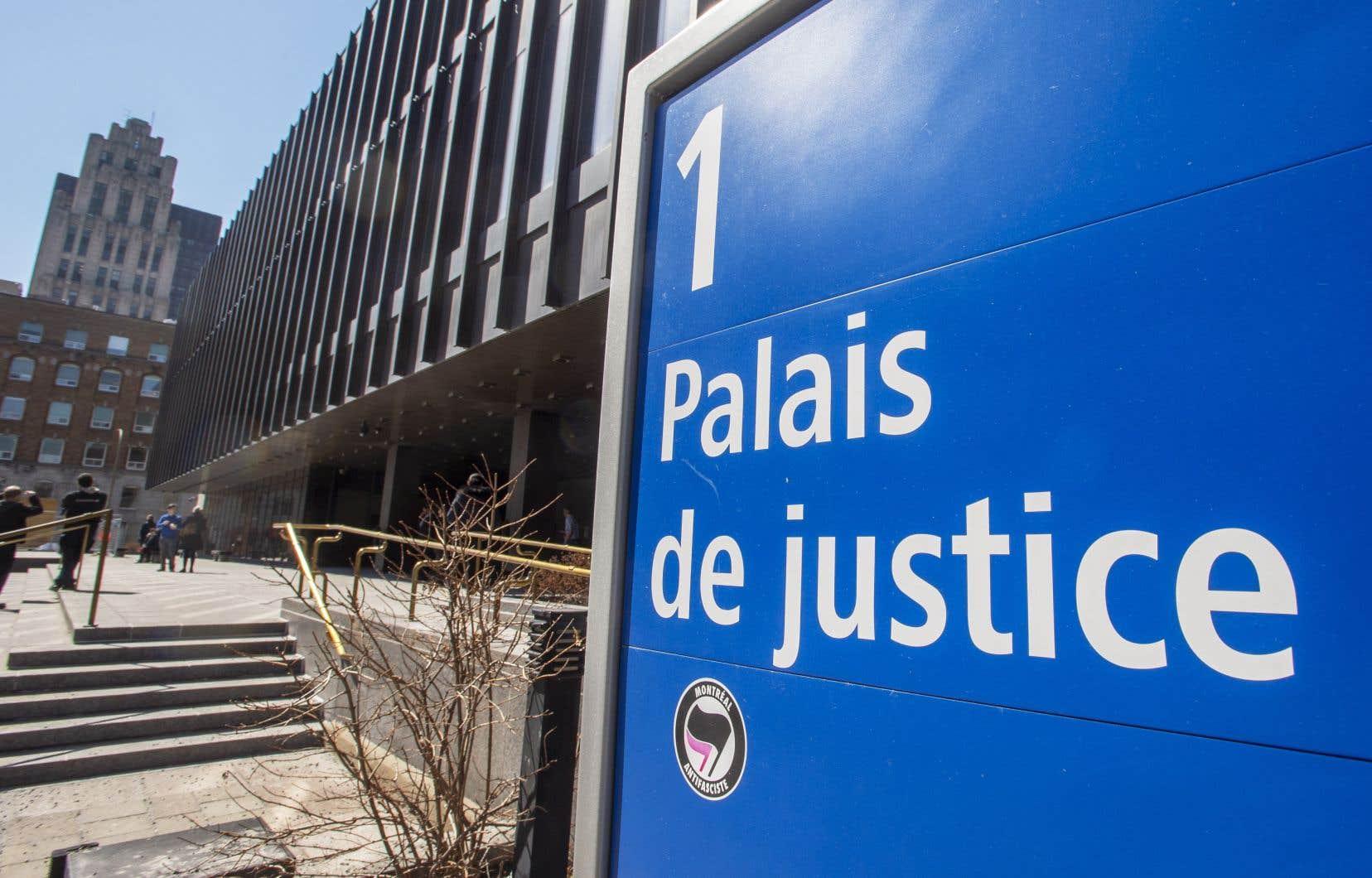 Selon ce qu'a pu constater «Le Devoir», l'application des directives de la santé publique était à géométrie variable dans les différents tribunaux de la province.