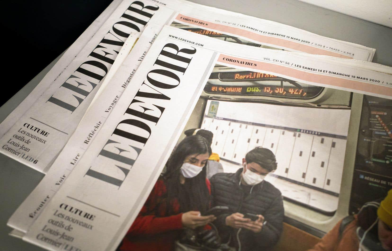 En complément à son édition papier, «Le Devoir» lance aujourd'hui le Courrier du coronavirus, une infolettre quotidienne traitant des derniers développements entourant la pandémie de la COVID-19.