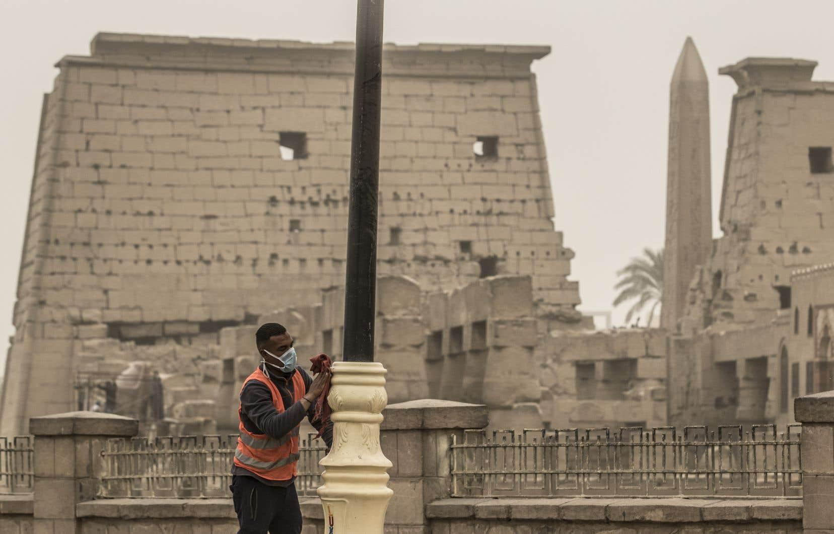 Le premier cas de coronavirus enregistré sur le continent africain l'a été en Égypte le 14février.