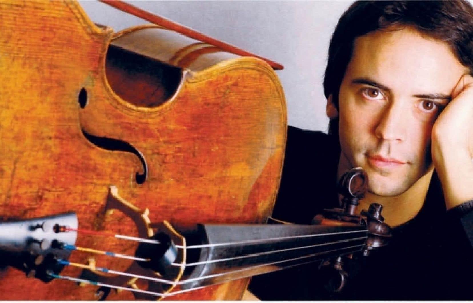Le violoncelliste Jean-Guihen Queyras est né à Montréal en 1967.